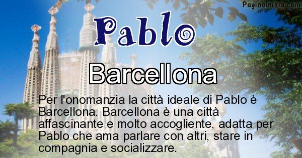 Pablo - Città ideale per Pablo