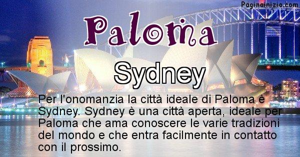 Paloma - Città ideale per Paloma