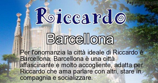 Riccardo - Città ideale per Riccardo