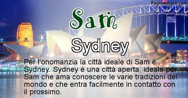 Sam - Città ideale per Sam