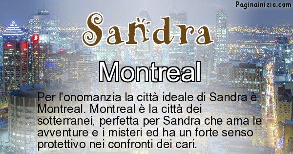 Sandra - Città ideale per Sandra