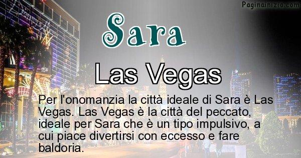 Sara - Città ideale per Sara