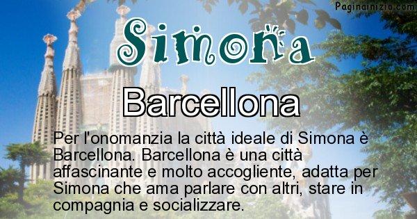Simona - Città ideale per Simona