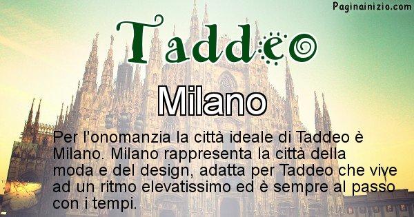 Taddeo - Città ideale per Taddeo
