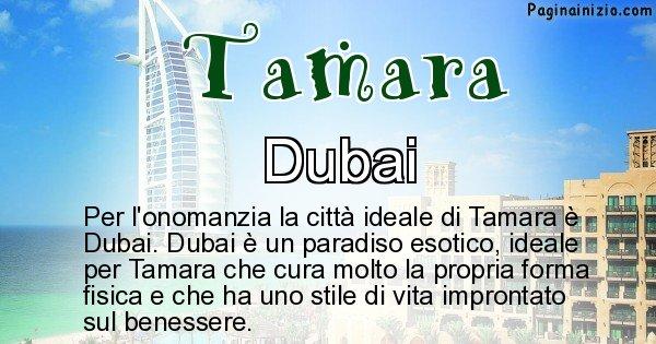 Tamara - Città ideale per Tamara