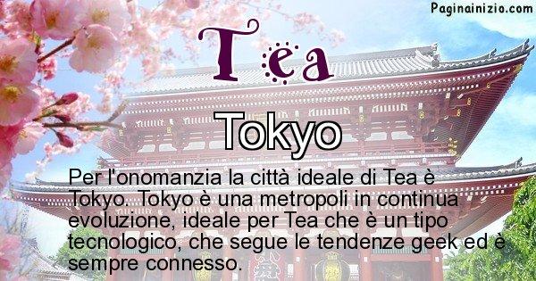 Tea - Città ideale per Tea