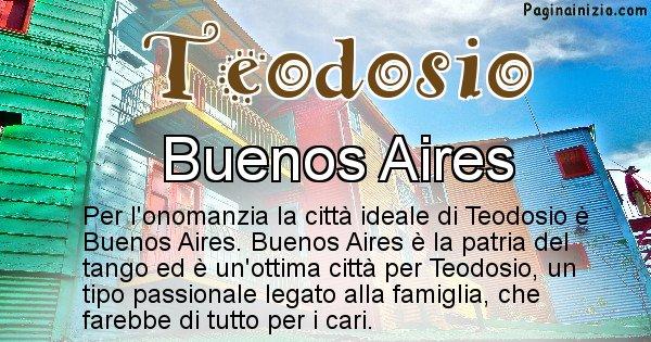 Teodosio - Città ideale per Teodosio