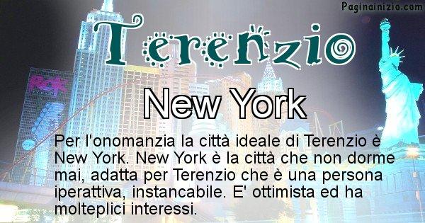 Terenzio - Città ideale per Terenzio