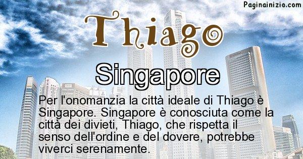 Thiago - Città ideale per Thiago