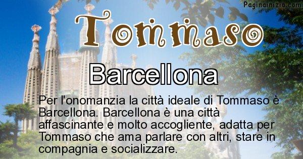 Tommaso - Città ideale per Tommaso
