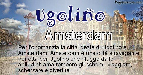 Ugolino - Città ideale per Ugolino