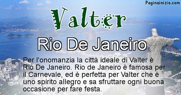 Valter - Città ideale per Valter