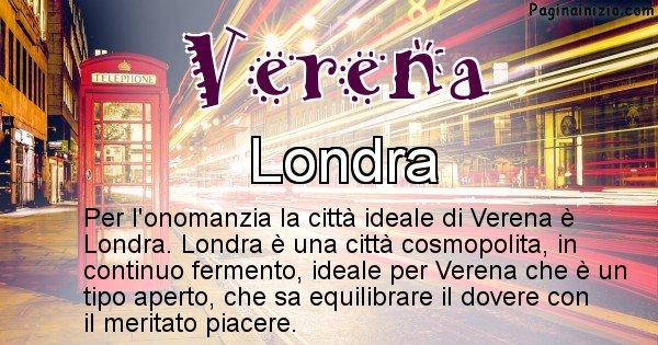 Verena - Città ideale per Verena