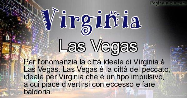 Virginia - Città ideale per Virginia
