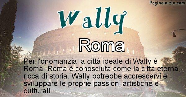 Wally - Città ideale per Wally