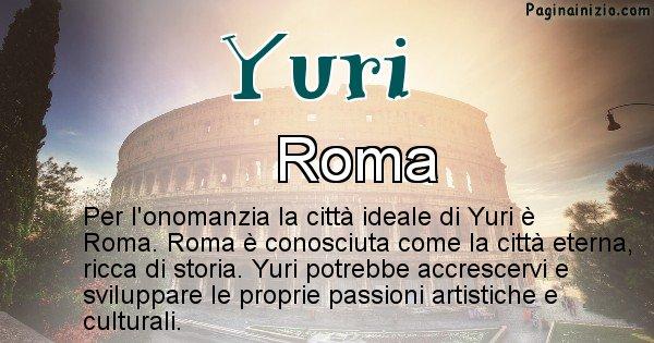 Yuri - Città ideale per Yuri