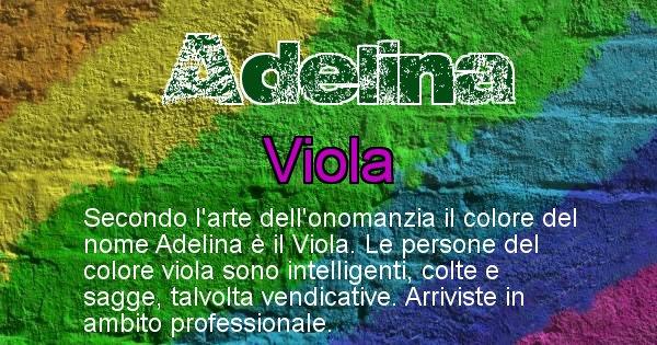 Adelina - Colore corrispondente al nome Adelina