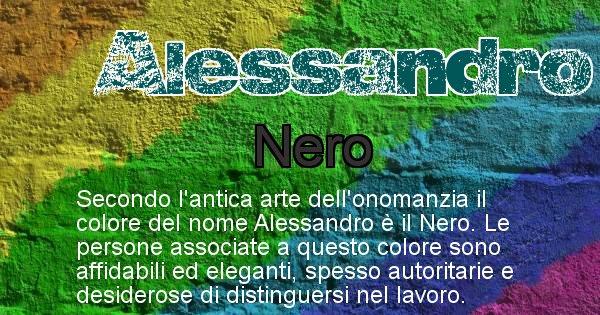 Alessandro - Colore corrispondente al nome Alessandro