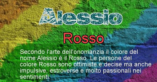 Alessio - Colore corrispondente al nome Alessio