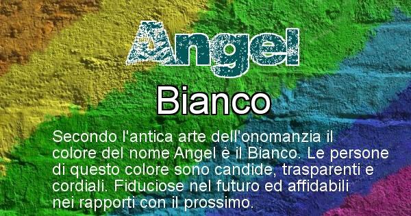 Angel - Colore corrispondente al nome Angel