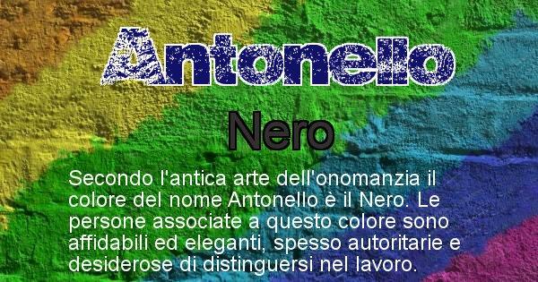 Antonello - Colore corrispondente al nome Antonello