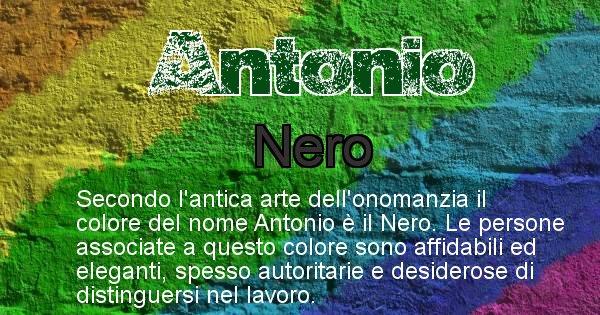 Antonio - Colore corrispondente al nome Antonio