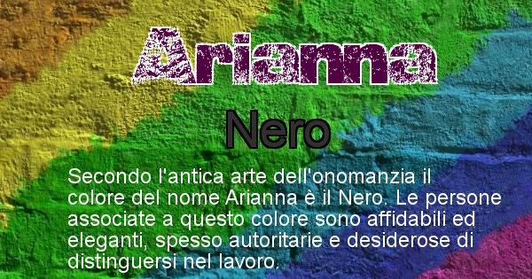 Arianna - Colore corrispondente al nome Arianna