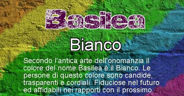 Basilea - Colore corrispondente al nome Basilea