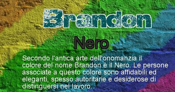 Brandon - Colore corrispondente al nome Brandon