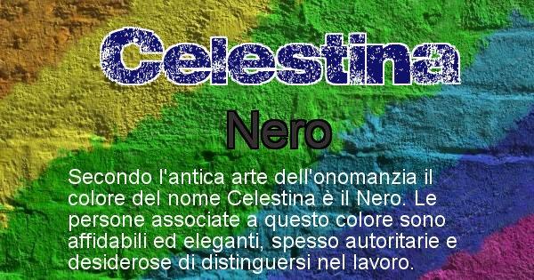 Celestina - Colore corrispondente al nome Celestina