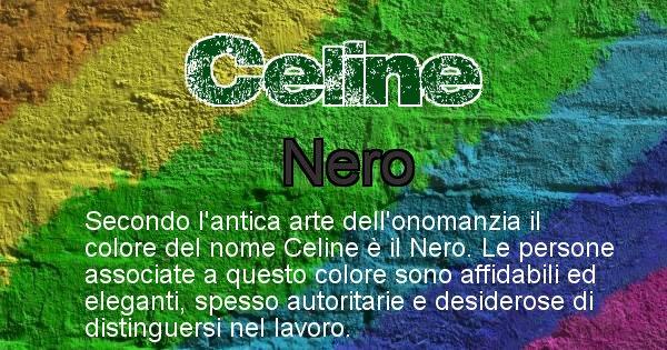 Celine - Colore corrispondente al nome Celine
