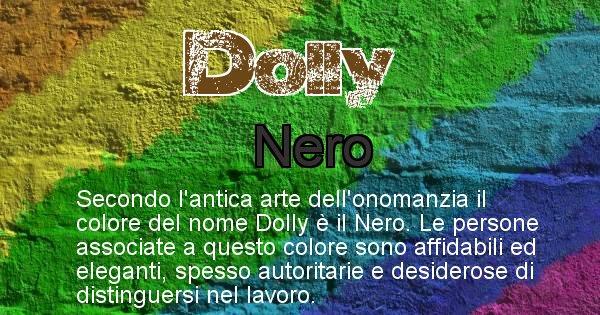 Dolly - Colore corrispondente al nome Dolly
