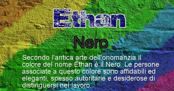 Ethan - Colore corrispondente al nome Ethan