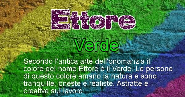 Ettore - Colore corrispondente al nome Ettore