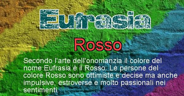 Eufrasia - Colore corrispondente al nome Eufrasia