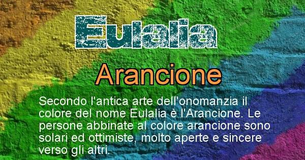 Eulalia - Colore corrispondente al nome Eulalia