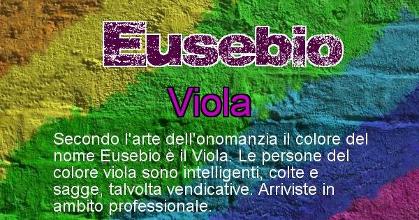 Eusebio - Colore corrispondente al nome Eusebio