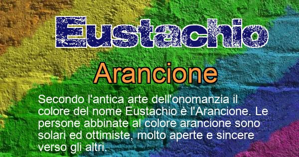 Eustachio - Colore corrispondente al nome Eustachio