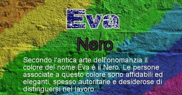 Eva - Colore corrispondente al nome Eva