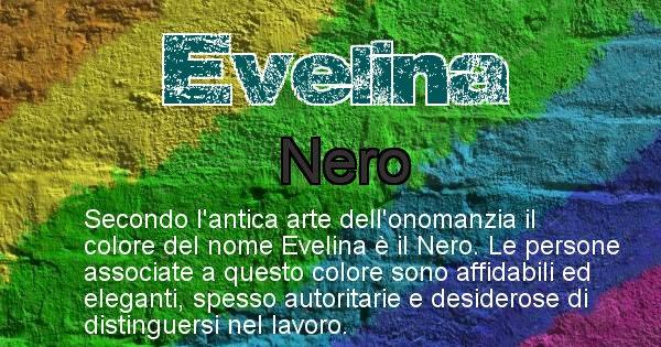 Evelina - Colore corrispondente al nome Evelina