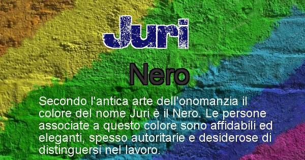 Juri - Colore corrispondente al nome Juri