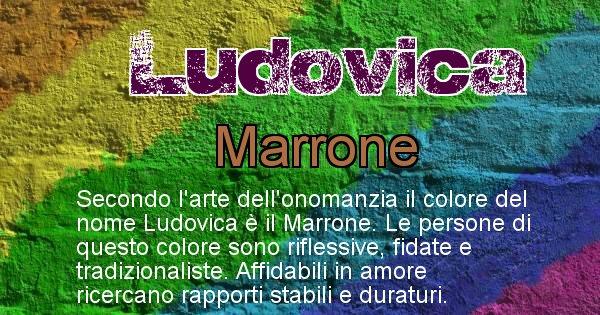 Ludovica - Colore corrispondente al nome Ludovica