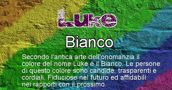 Luke - Colore corrispondente al nome Luke