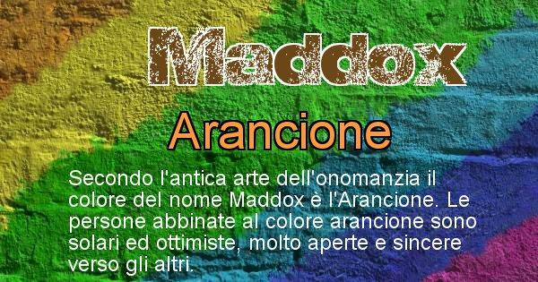 Maddox - Colore corrispondente al nome Maddox