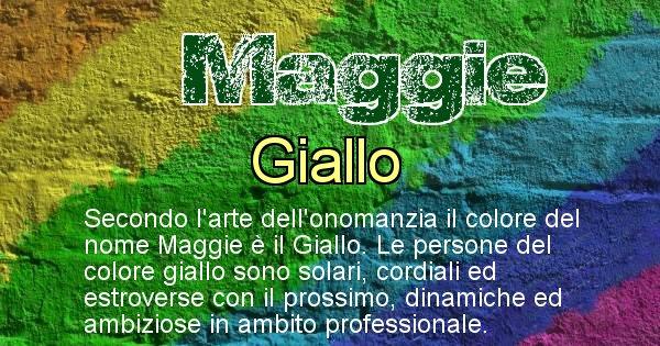 Maggie - Colore corrispondente al nome Maggie