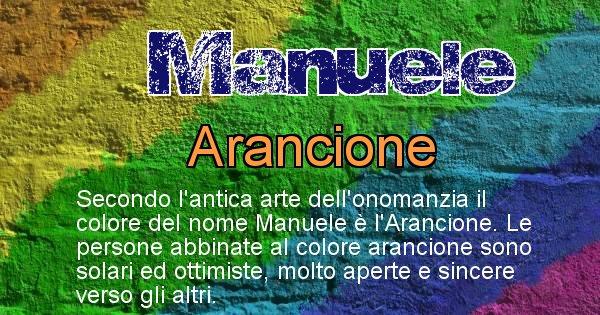 Manuele - Colore corrispondente al nome Manuele