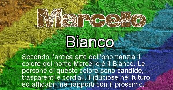 Marcello - Colore corrispondente al nome Marcello