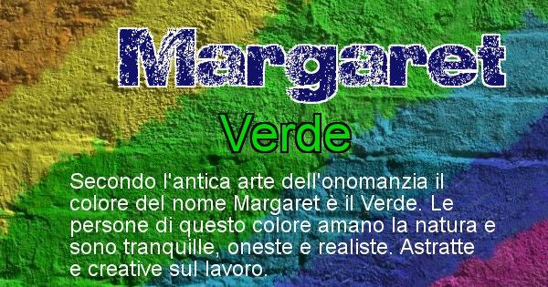 Margaret - Colore corrispondente al nome Margaret