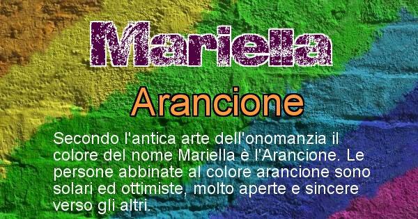 Mariella - Colore corrispondente al nome Mariella