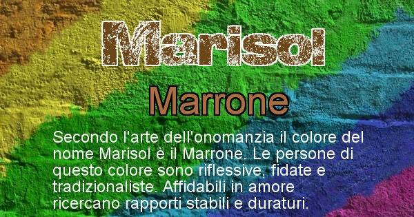 Marisol - Colore corrispondente al nome Marisol